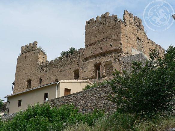 Lienzos meridionales del castillo de Yanguas